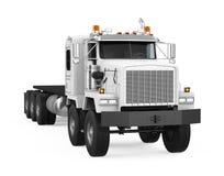 caminhão do Semirreboque isolado ilustração stock