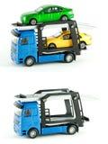 Caminhão do transportador Fotografia de Stock Royalty Free