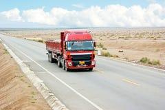 Caminhão do transporte Imagem de Stock Royalty Free