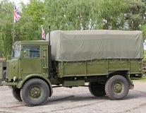 Caminhão do transporte do exército imagens de stock