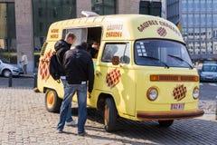 Caminhão do waffle Foto de Stock