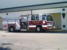 Caminhão dos bombeiros Foto de Stock