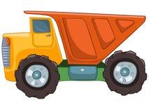 Caminhão dos desenhos animados Fotografia de Stock