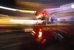 Caminhão dos sapadores-bombeiros Fotos de Stock