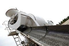 Caminhão e rampa concretos   Foto de Stock