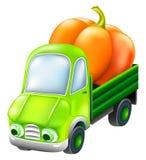 Caminhão engraçado dos desenhos animados Imagem de Stock Royalty Free