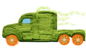 Caminhão fora da grama Imagem de Stock
