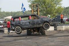 Caminhão fora do derby Imagens de Stock Royalty Free
