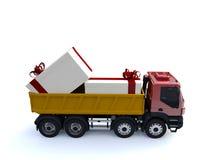 Caminhão grande Imagem de Stock Royalty Free
