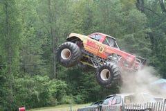 Caminhão grande do monstro do guerreiro Fotografia de Stock Royalty Free