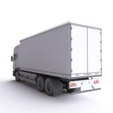Caminhão ilustração 3D Fotos de Stock Royalty Free