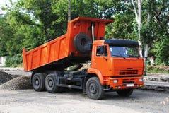 Caminhão industrial foto de stock royalty free