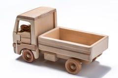Caminhão isolado & x28; lorry& x29; brinquedo no fundo branco imagem de stock