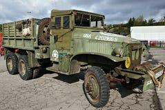 Caminhão militar Foto de Stock