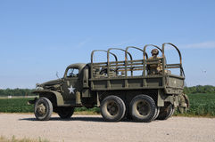 Caminhão militar imagens de stock