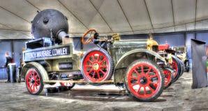 Caminhão militar inglês da guerra mundial 1 do vintage Fotografia de Stock Royalty Free