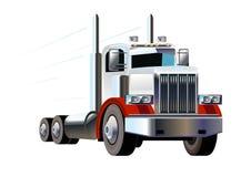 Caminhão moderno grande Fotografia de Stock