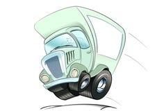 Caminhão movente Fotografia de Stock