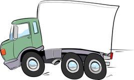 Caminhão movente de alta velocidade imagens de stock royalty free