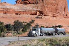 Caminhão no Estados Unidos Fotografia de Stock Royalty Free