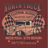 Caminhão norte Fotos de Stock Royalty Free