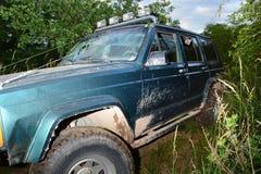 caminhão 4x4 offroad Foto de Stock