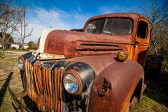 Caminhão oxidado velho Fotografia de Stock