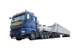 Caminhão pesado do transporte fotografia de stock