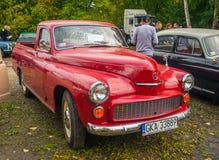 Caminhão polonês Varsóvia 204 do clássico imagem de stock royalty free