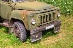 Caminhão soviético velho Foto de Stock Royalty Free