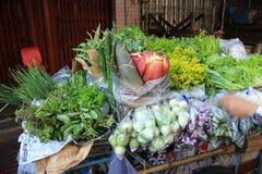 Caminhão vegetal fotos de stock