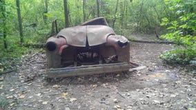 Caminhão velho imagem de stock