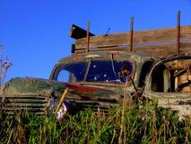 Caminhão velho Fotos de Stock Royalty Free