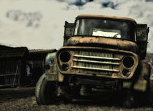 Caminhão velho Foto de Stock