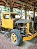Caminhão velho abandonado Foto de Stock Royalty Free