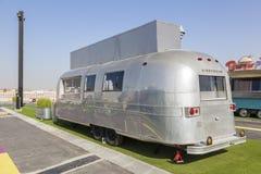 Caminhão velho do alimento da corrente de ar em Dubai Fotos de Stock