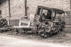 Caminhão velho, Mindanao Filipinas fotos de stock royalty free