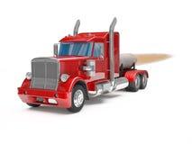 Caminhão vermelho Imagem de Stock Royalty Free
