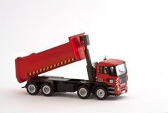 Caminhão vermelho do brinquedo Fotografia de Stock