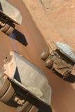 Caminhões 1 do reboque imagens de stock