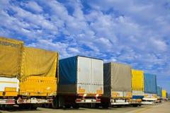 Caminhões Fotos de Stock Royalty Free