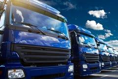 Caminhões Foto de Stock Royalty Free