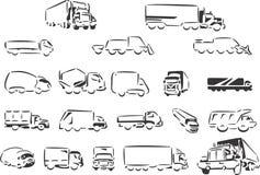 Caminhões ilustração do vetor