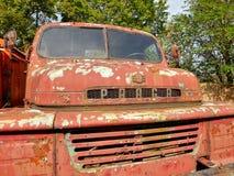 Caminhões de corrosão históricos Praga V3S foto de stock royalty free