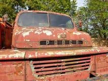 Caminhões de corrosão históricos Praga V3S fotografia de stock