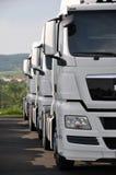Caminhões do Semitrailer Foto de Stock Royalty Free