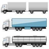 Caminhões dos ícones Imagem de Stock Royalty Free