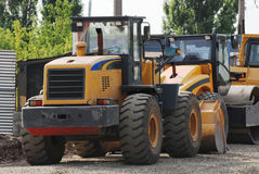 Caminhões industriais Fotos de Stock
