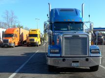 Caminhões: parte dianteira sobre Foto de Stock Royalty Free