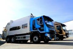 Caminhões regionais do transporte novo do FE e do FL de Volvo imagens de stock royalty free